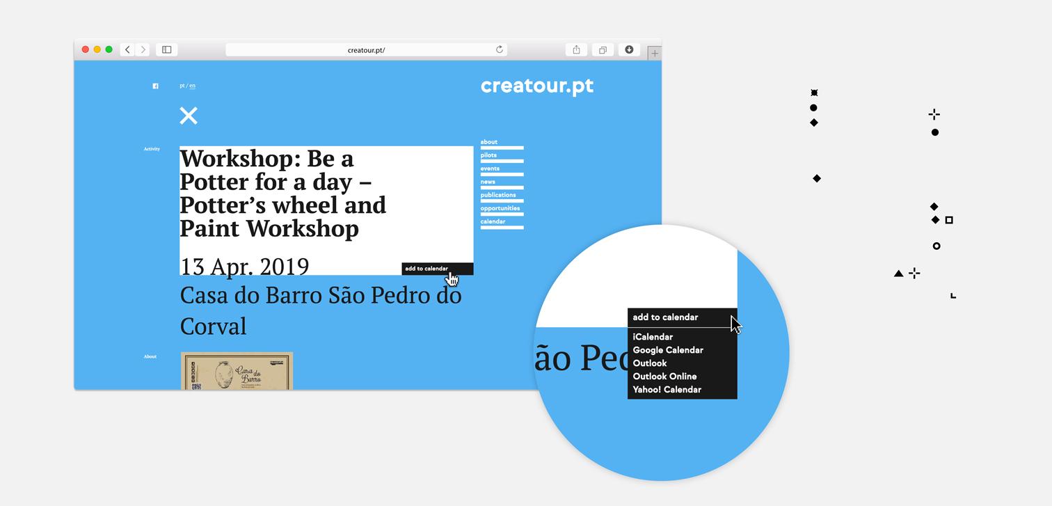Creatour-calendário