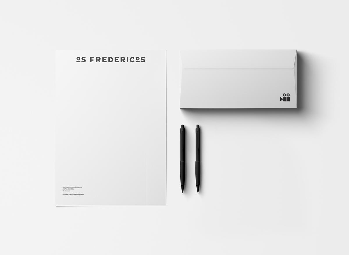 Os Fredericos-papel-carta-envelope