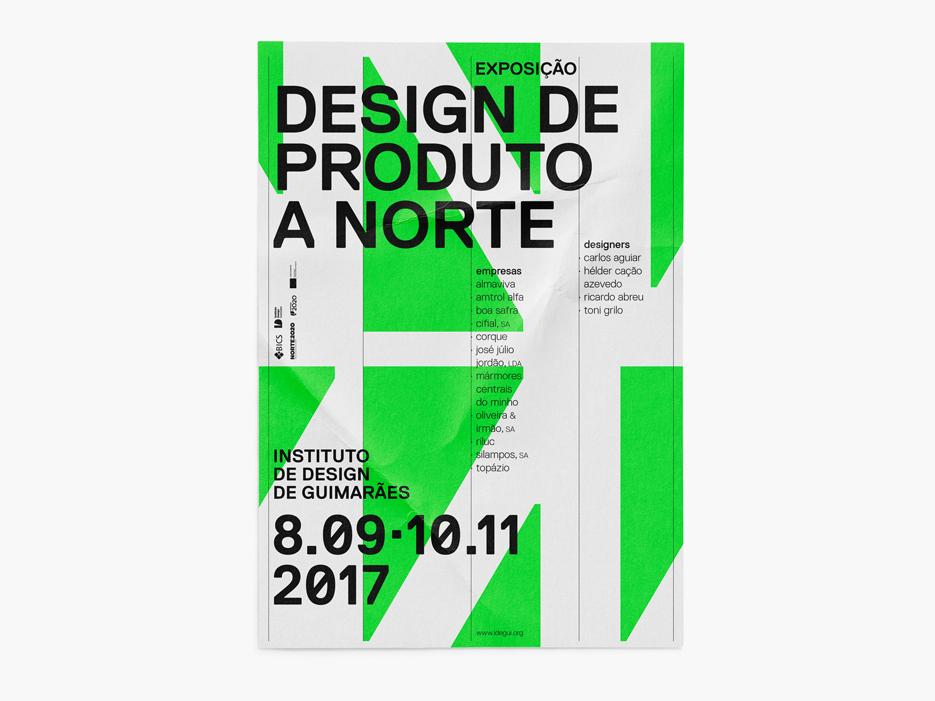 Design Produto a Norte-cartaz