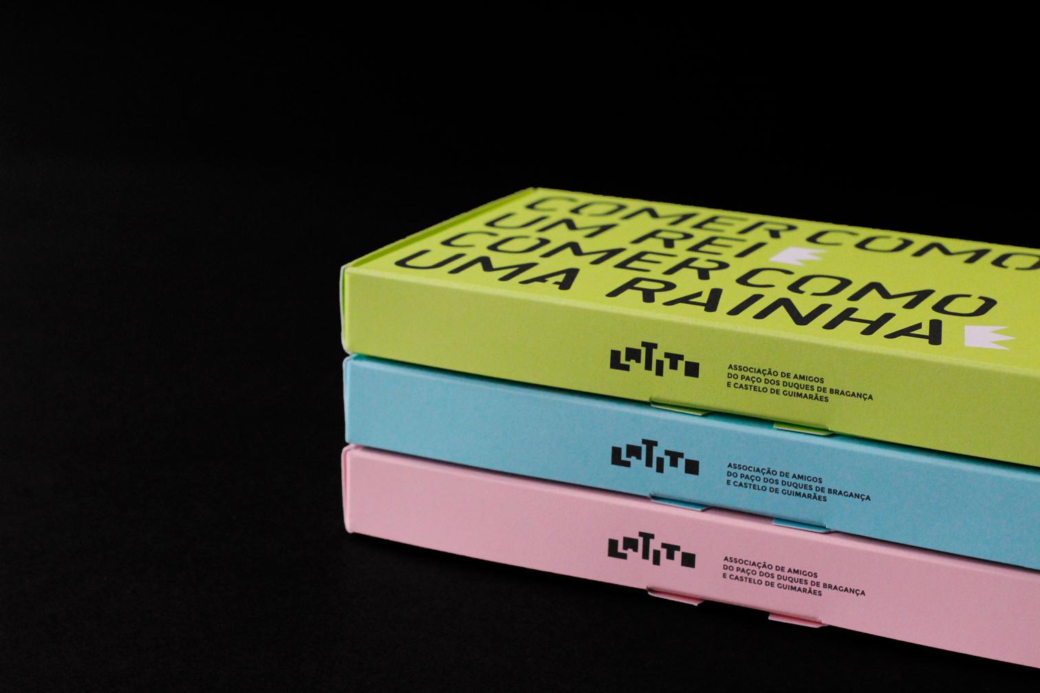 Talheres Latito-conjunto de embalagens